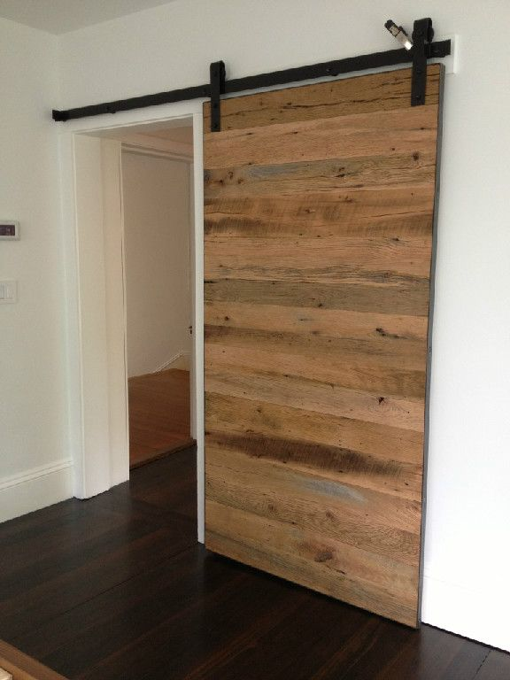here's a door we did for another project, thinking of this for the bedroom, ignore the temporary clamp at the top