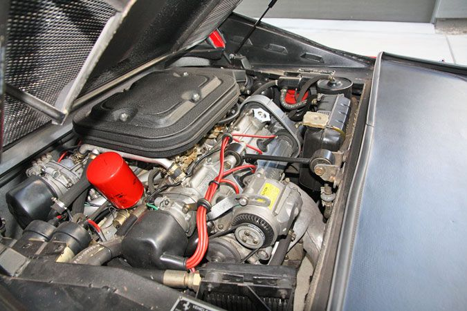 1979 Ferrari 308 GTS Serial Number 27705-Engine bay from left