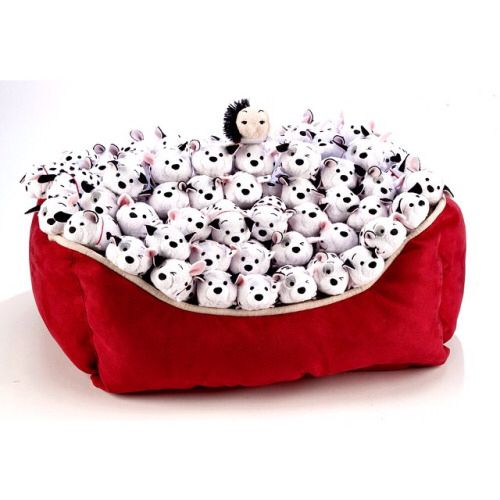 101 Dalmatians Tsum Tsum collection. I actually considered doing this