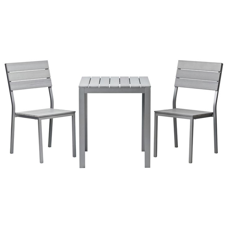 Chaise bistro alu ikea for Chaise bistrot alu