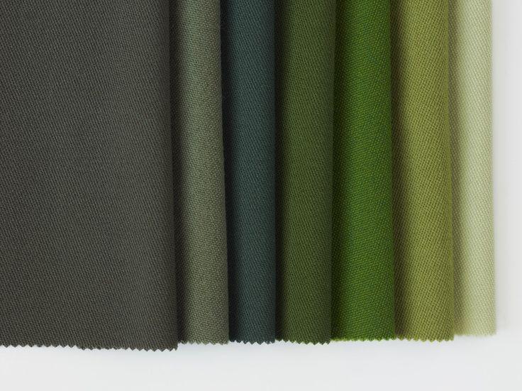 Dagny Fargestudio. Jostedal for Gudbrandsdalen Uldvarefabrik - Moss, Camouflage, Pine, Emerald, Kelly Green, Nordic Green og Green Tea.