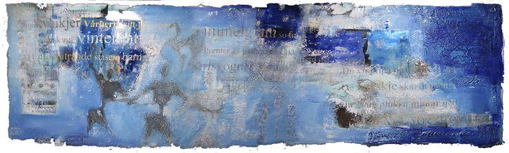 Acrylic paint on acrylic glass  by Elisabeth Takvam