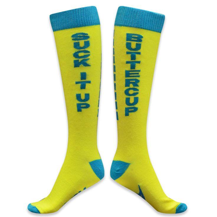 funny knee high socks for men | ... wicking. These knee socks will add more fun to you run - guaranteed