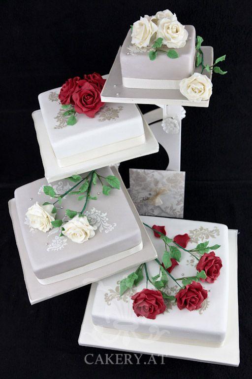 Hochzeitstorte - Fancy Wedding II Cake. ~ Austria