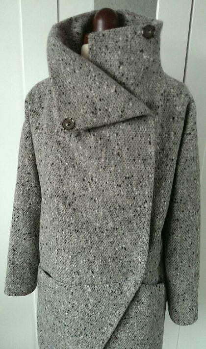 Купить Пальто зимнее. Пальто оверсайз. - пальто, пальто женское, пальто из шерсти, пальто зимнее