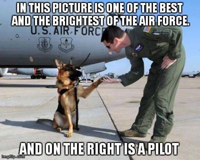 Some Air Force humor - Help Us Salute Our Veterans by supporting their businesses at www.VeteransDirectory.com, Post Jobs and Hire Veterans VIA www.HireAVeteran.com Repin and Link URLs