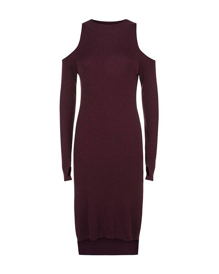 Ra Knit Dress - Oxblood | all tops | Sweaty Betty