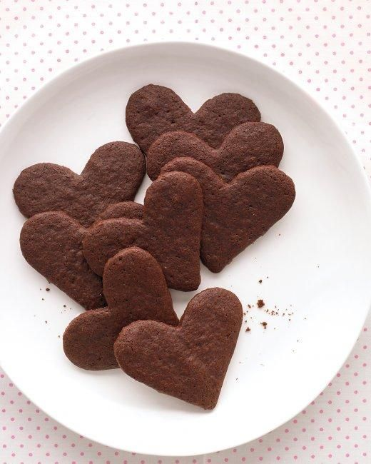 Great with a little vanilla ice cream sandwiched between - Chocolate Sweet Hearts Recipe
