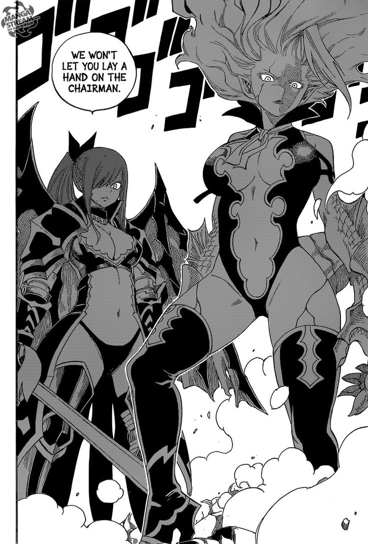 Fairy Tail - In my opinion, the hottest women in Fairy Tail.