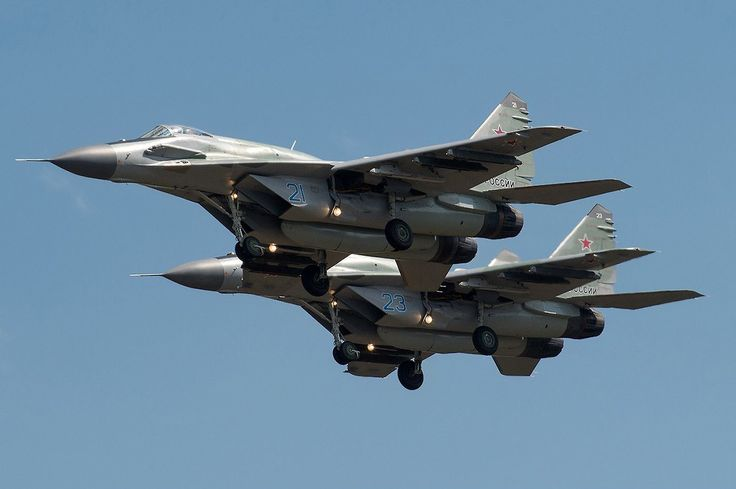 Russian Air Force : MIG 29