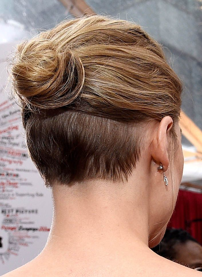 Galerry undercut nape hairstyle