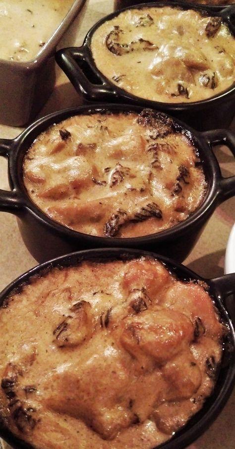 Cassolettes de ris de veau aux morilles