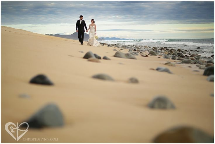 Beautiful beach wedding photo by CHRIS LYNN Photographers