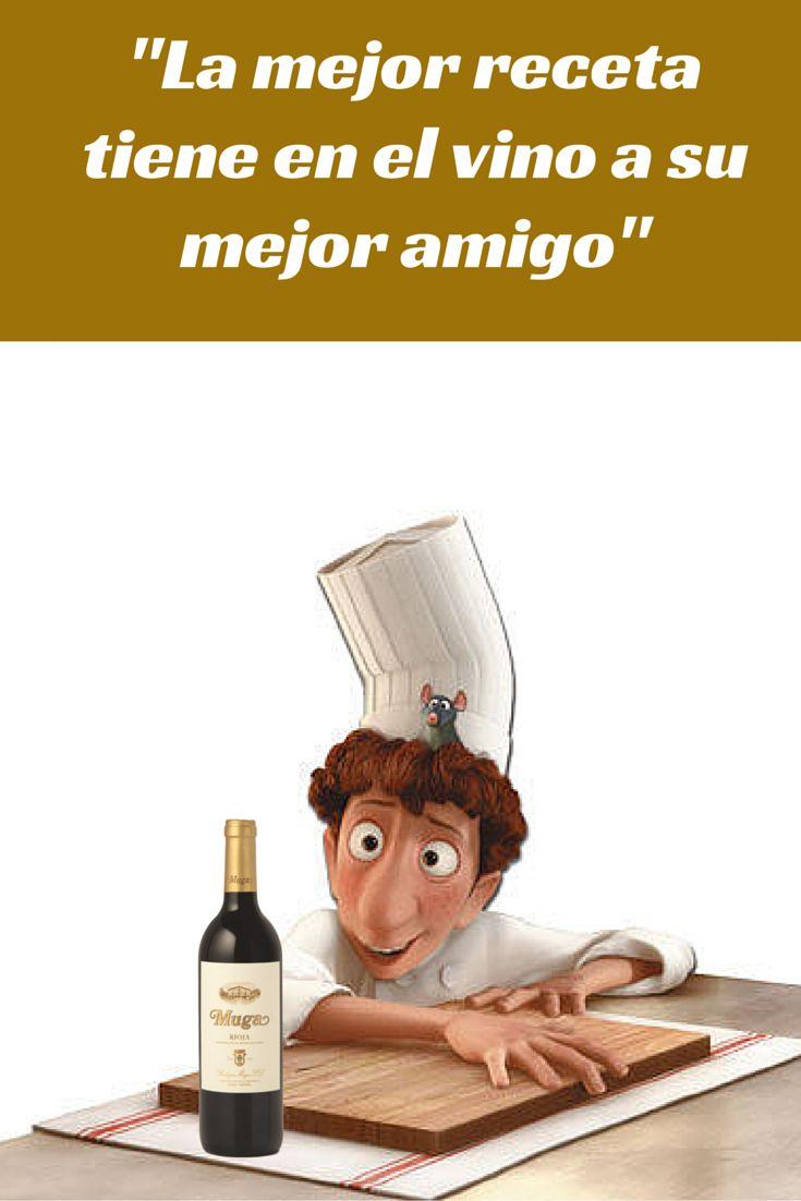 #wine #vino #bodegasmuga #rioja #Mugalovers #gastronomia #cocina #chef #muga #recetas