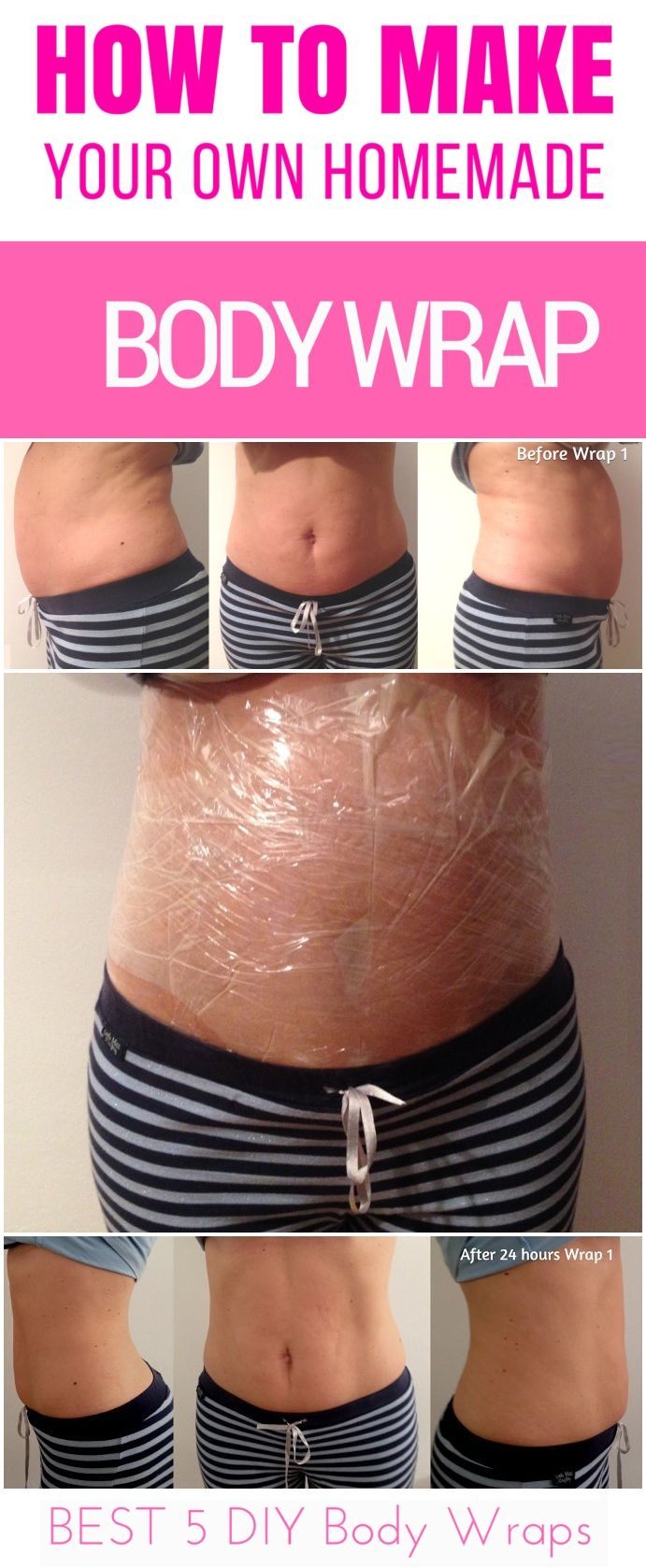 Diy Body Wrap For Weight Loss Detox And Cellulite Treatment