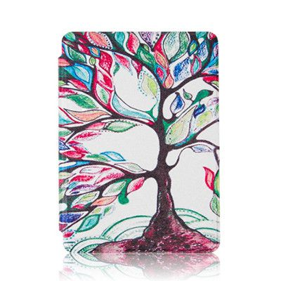 New PU Leather Protective Cover Case for Amazon Kindle 4 & kindle 5 E-book Reader 6 Inch case + Screen Protector