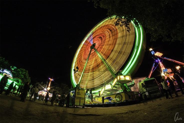 giant wheel, Samyang 8mm fisheye, (c) Angel Sanchez Garcia, http://500px.com/photo/10483029
