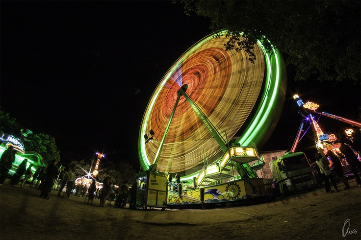 giant wheel, Samyang 8mm fisheye, (c) Angel Sanchez Garcia, http://500px.com/photo/10483029