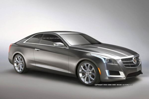 New photo illustrations show what to expect from the 2014 Cadillac CTS Coupe.