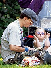"""Depp and Paradis welcome their first child, Lily-Rose Melody Depp, in Paris. They have a son, John Christopher Depp III, whom they call Jack, in April 2002. """"Johnny is the perfect father. He dresses the children, he changes them, he makes them laugh,"""" Paradis says in French Elle in 2002. Her one complaint? """"Well, he does give Lily-Rose too many potato chips."""""""