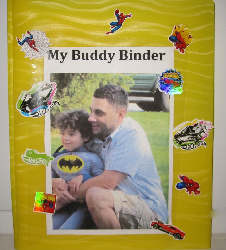 Child Life Activity- The Buddy Binder- Communication binder to help parents and kids stay connected Great tool for separation of family during hospitalization