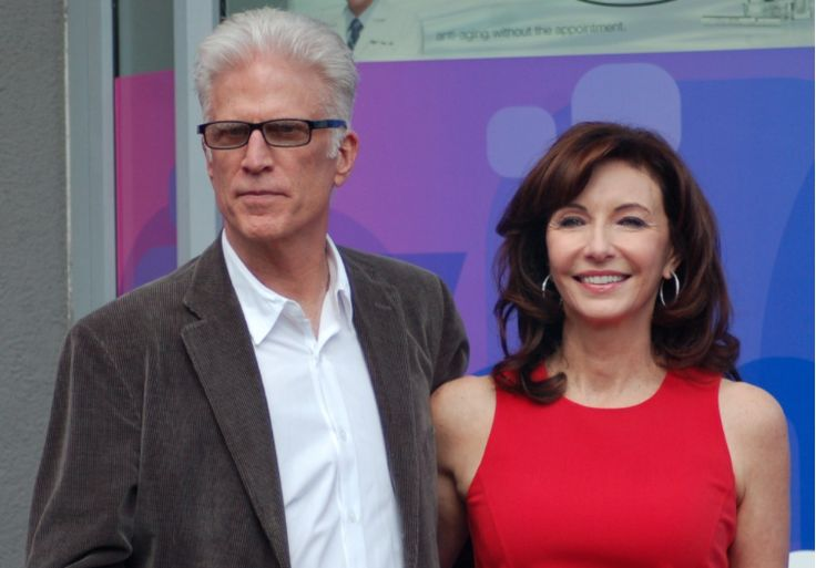 11. Ted Danson and Mary Steenburger: 1995- Mary Steenburgen just seems to get better with age. Third time was certainly the charm for actor Ted Danson, as Mary Steenburger became his third wife back in 1995. Their marriage has stood strong for 21 years, as the pair opts to spend more time with each other than the press.
