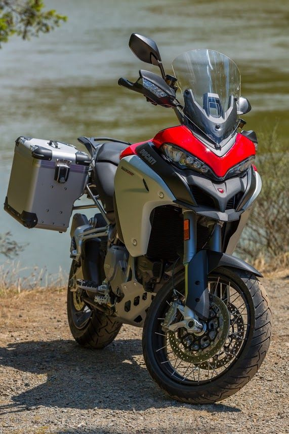 Sexy Beast!  Ducati Multistrada Enduro!