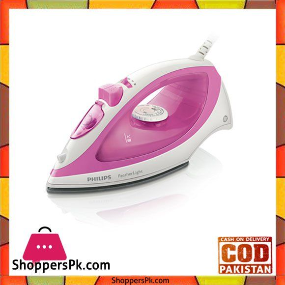 On Sale: Philips Steam Iron Price Rs. 2300 https://www.shopperspk.com/product/philips-steam-iron/