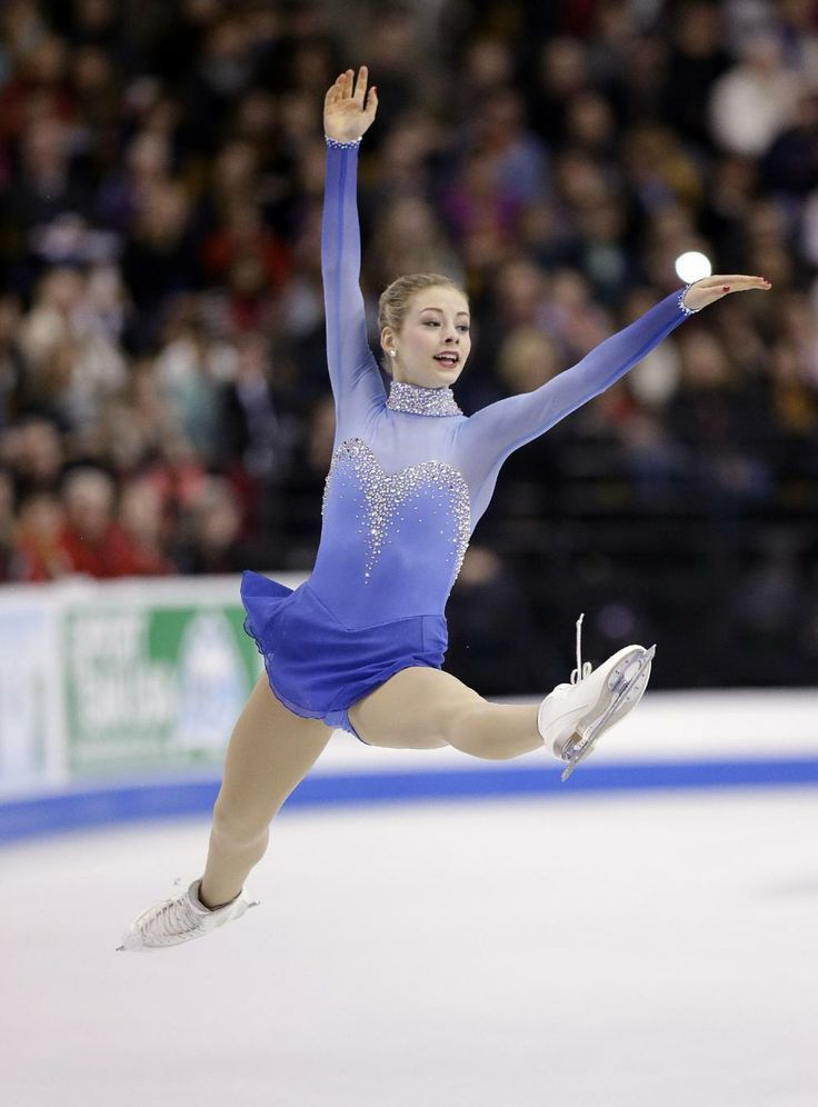 Gold wins US figure skating title