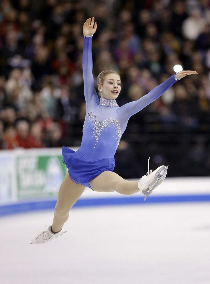Gold wins US figure skating title