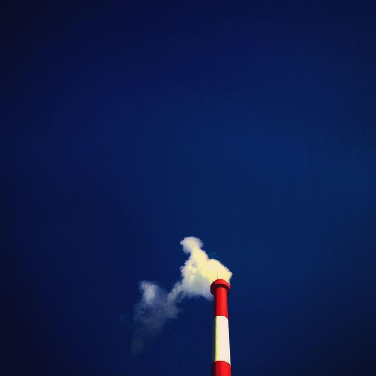 blue sky & chimney