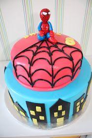 Bricoazucar: Tarta de Spiderman