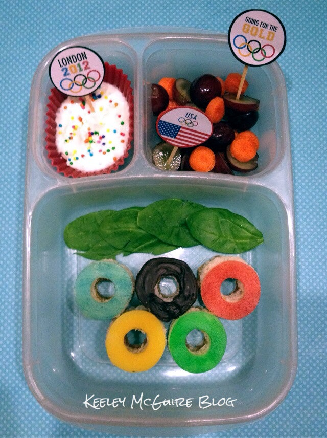 Lunch Made Easy: Olympic Lunchbox via Keeley McGuire blog