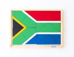 South African Flag Puzzle
