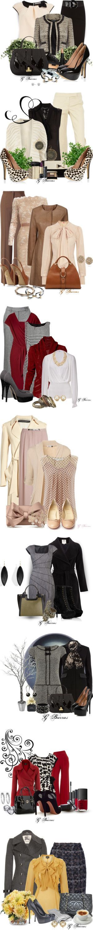 """""""Business Attire."""" by gaburrus ❤ liked on Polyvore"""