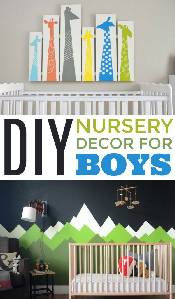 Diy Nursery Decor For Boys Baby Room
