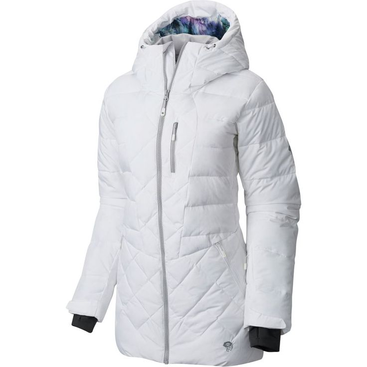 When Winter Gets Bitter The Downhill Parka Heats Up Coldest Days With Q Shield Down Insulation A Removable Powder Skirt Lets You Wear It
