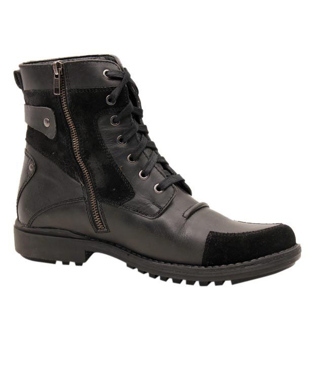 Delize Boots, http://www.snapdeal.com/product/delize-rugged-black-high-ankle/533032