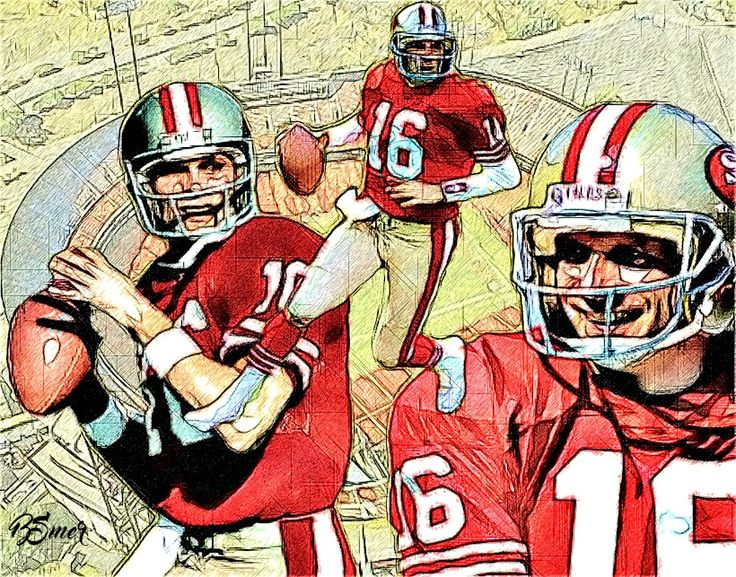 Joe Montana - San Fran 49'ers QB (Retired)