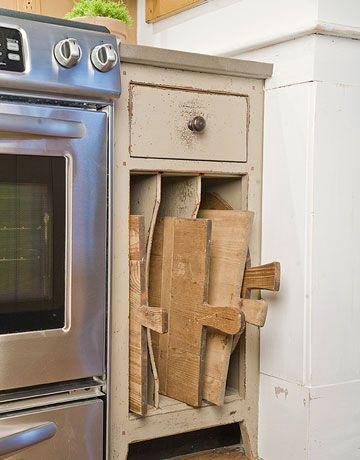 Best 25 Cutting Board Storage Ideas On Pinterest Pan