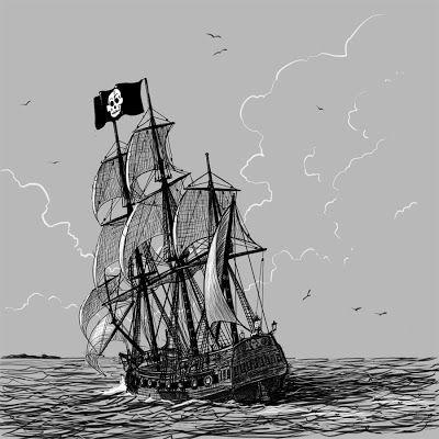 """""""La canción del pirata"""" de Espronceda: un canto a libertad."""