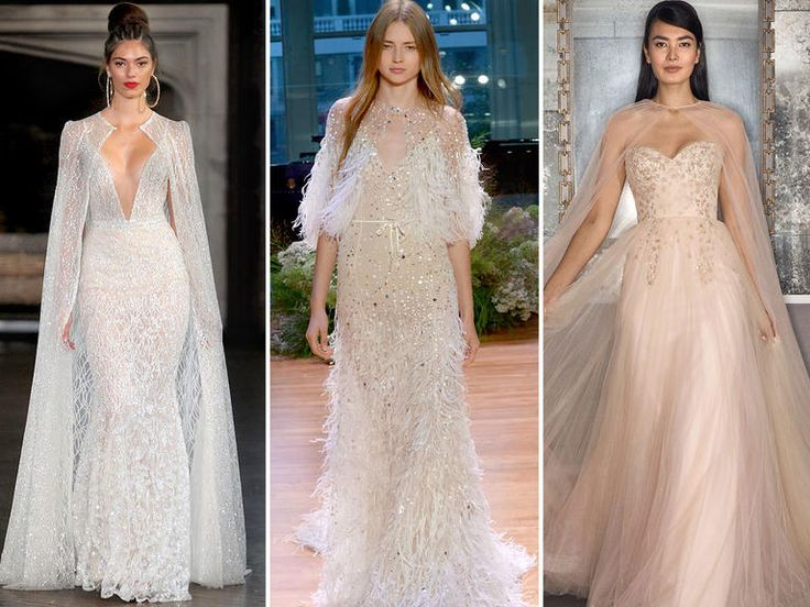 wedding dresses with capes
