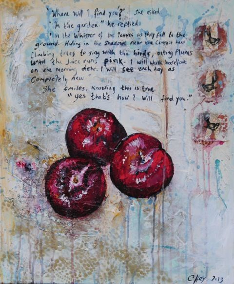 """""""Plums"""" by Claire Hey"""