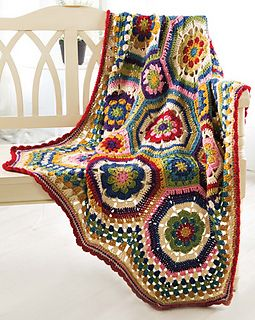 Octie Throw by Jessie Rayot Published in Crochet! Magazine, Autumn 2014