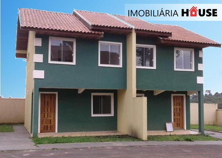Sobrados na região de Piraquara na Rua Tubarão, bem no bairro Santiago unidades com 2 e 3 quartos, condomínio fechado, interfone em todos os sobrados, portão eletrônico, área de serviço, banheiro, lavabo, cozinha, quartos e sala, rua asfaltada, próximos a escolas panificadora e mercados ponto de ônibus em frente. aceita financiamento e pode dar o FGTS para ajudar na entrada. R.J. Santos Corretor Imobiliário CRECI F24206 - PR 41 | 8428-1471 Oi  41 | 9596- 1786 TIM / WhatsApp