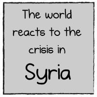 The world reacts to the crisis in Syria - The Oatmeal
