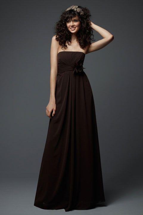 Fancy A-line empire waist chiffon dress for bridesmaid,$125.80: Waist Chiffon, Dresses Wedding, Bridesmaid Dresses, Color, Wedding Dress, Bridesmaid 125 80, Chiffon Dresses
