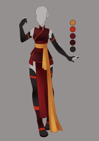 :: Commission July 03: Outfit Design :: by VioletKy on DeviantArt