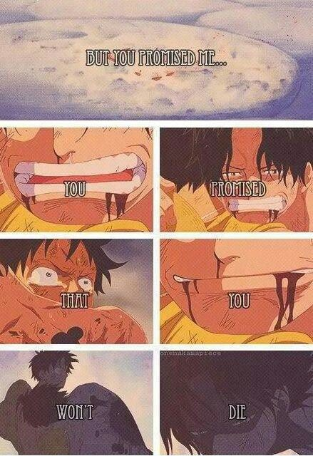 Luffy and Ace -one piece