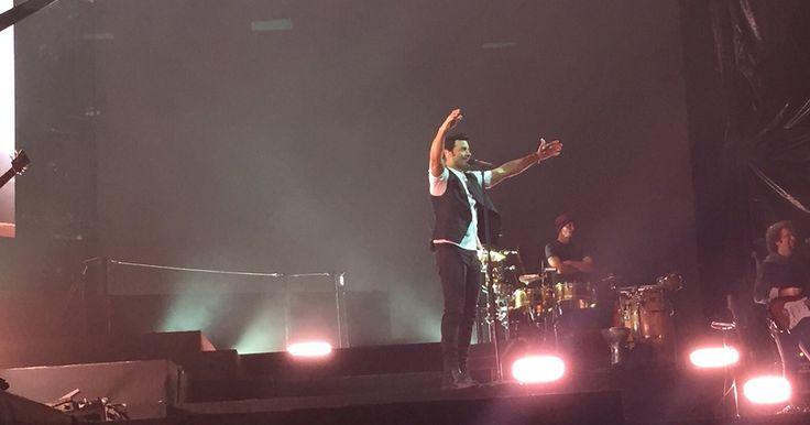 """No te pierdas las imágenes de lo que fue el quinto concierto de Chayanne en México durante su gira """"En Todo Estaré""""."""